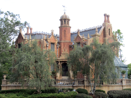 The Haunted Mansion immerses guests in the story.