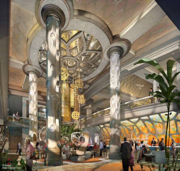 The new lobby of Disney's Coronado Springs Resort. Photo credits (C) Disney Enterprises, Inc. All Rights Reserved