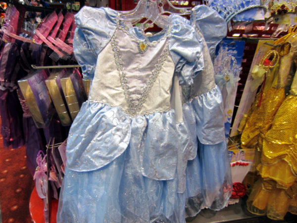 The costumes you purchase at Disney World can be expensive.