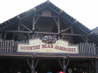 Bear Hall Is the home to the Country Bear Jamboree.