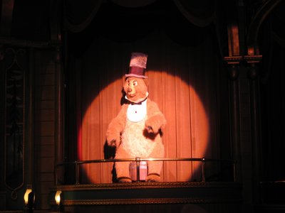 The Country Bear Jamboree is great family fun.