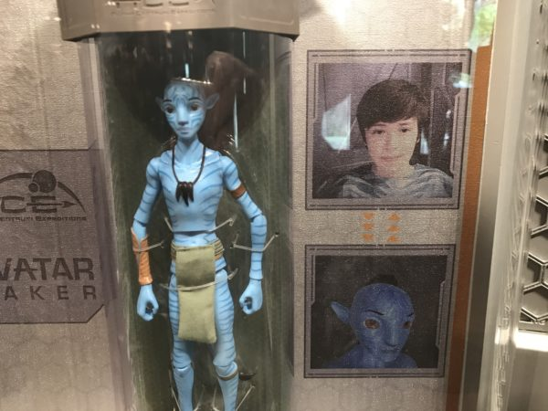 Make your own personalized avatar inside Windtraders in Pandora- The World of Avatar.
