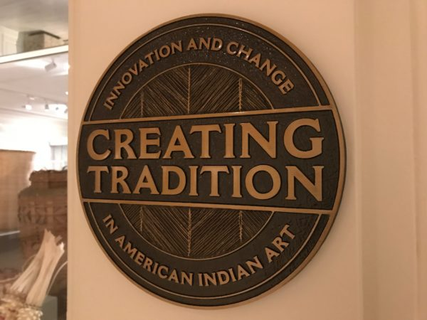 Creating Tradition is a new exhibit at Epcot featuring American Indian art.