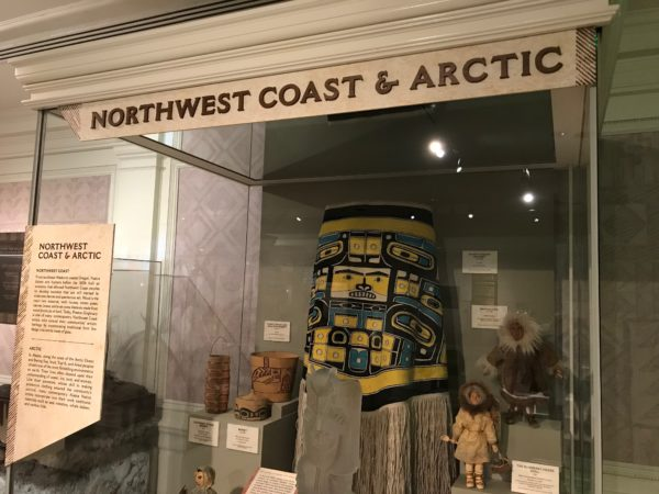 Exhibit of Northwest Coast & Arctic Indian art.