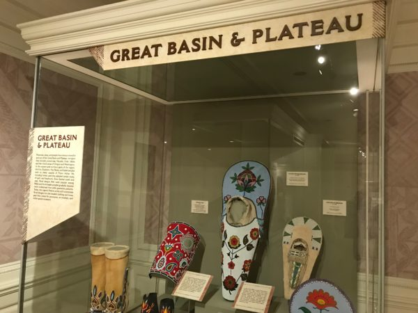 Exhibit of Great Basin and Plateau Indian art.