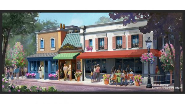 A new creperie is opening in Epcot's France Pavilion! Stay tuned for more details! Photo Credit: Disney Parks Blog. All Rights Reserved.