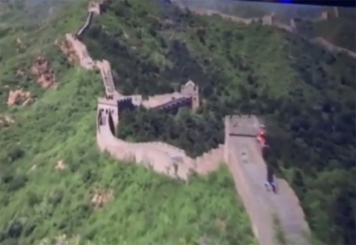 In Soarin' Over the World, guests will get to fly over monuments like the Great Wall of China.