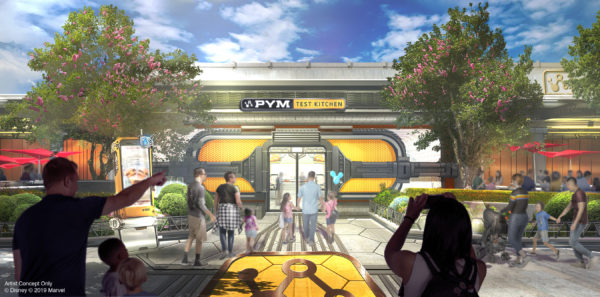 The Pym Test Kitchen will feature Pym Technologies to grow and shrink food. Photo credits (C) Disney Enterprises, Inc. All Rights Reserved