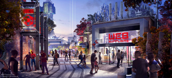 The Avengers Campus will open in 2020 at Disney California Adventure at Disneyland Resort. Photo credits (C) Disney Enterprises, Inc. All Rights Reserved
