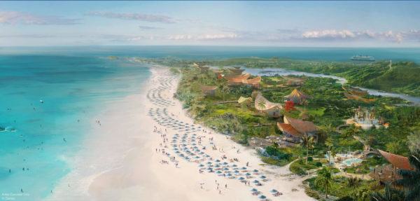 The new Disney Cruise LIne port of call will be located on the breathtaking island of Eleuthera at a place called Lighthouse Point. Photo credits (C) Disney Enterprises, Inc. All Rights Reserved