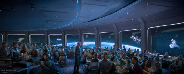 The new Space 220 restaurant at Epcot will be an out-of-this-world culinary experience. Photo credits (C) Disney Enterprises, Inc. All Rights Reserved