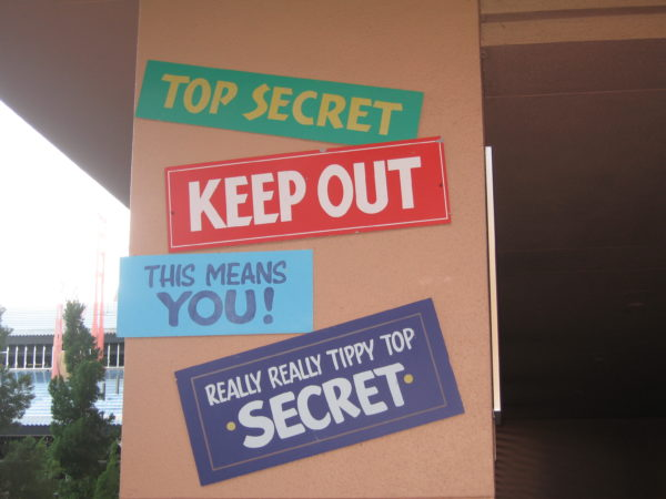 What is the top secret project that Disney is working on? We'll find out August 22nd!