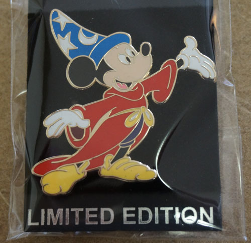 Limited edition Mickey Mouse Imagineering pin.