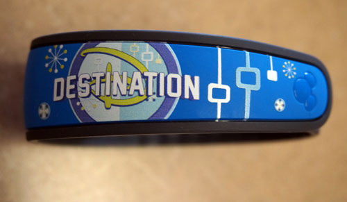 Destination D Magic Band.