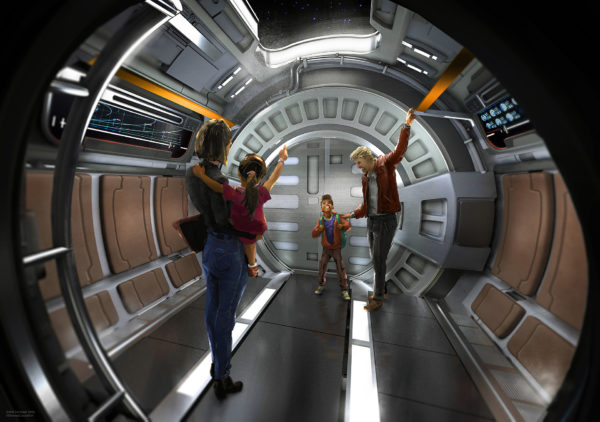 The groundbreaking Star Wars resort hotel coming to Walt Disney World Resort will be a multi-day, fully immersive adventure that will take guests aboard a luxury starship with all the features expected of a first-class hotel, including dining, recreation, and accommodations, all authentic to the Star Wars universe. Photo credits (C) Disney Enterprises, Inc. All Rights Reserved