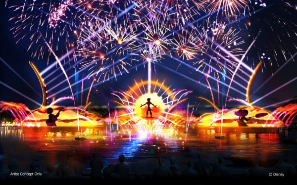 The new nighttime show at Epcot will be arriving in 2020 and will celebrate the music of Disney! Photo credits (C) Disney Enterprises, Inc. All Rights Reserved