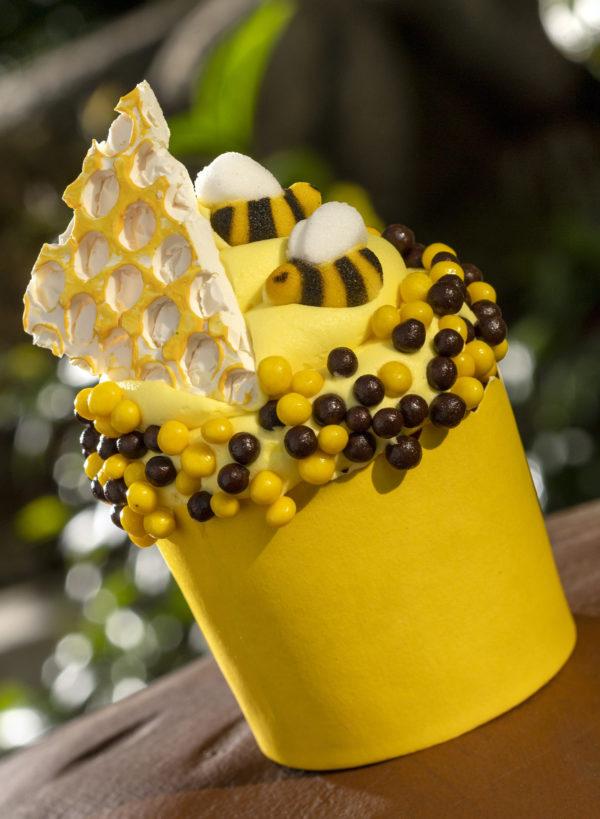 Honey Bee Cupcake. Photo credits (C) Disney Enterprises, Inc. All Rights Reserved