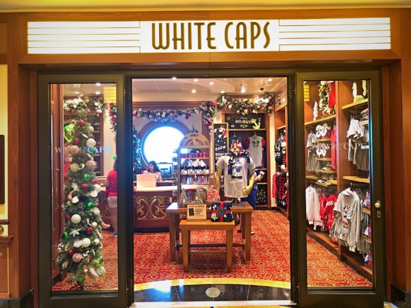 White Caps was turned into a Christmas Store for the first time!
