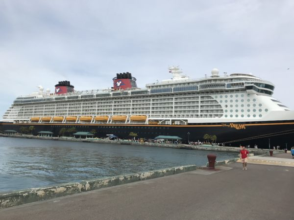The Disney Cruise ships are huge. It's good to get your bearings early on so you can save time later.