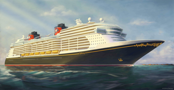 Concept art for new Disney Cruise Line ships. Photo credits (C) Disney Enterprises, Inc. All Rights Reserved