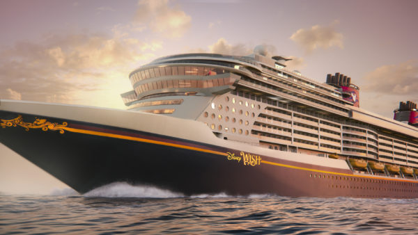The Disney Wish will set sail in early 2022. Photo credits (C) Disney Enterprises, Inc. All Rights Reserved