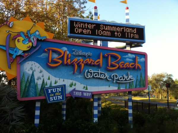 Disney World is now offering dedicated bus service for Disney's Water Parks.