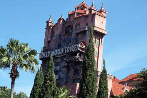 The Tower of Terror is a favorite.