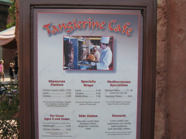 Tangierine Cafe has delicious couscous!