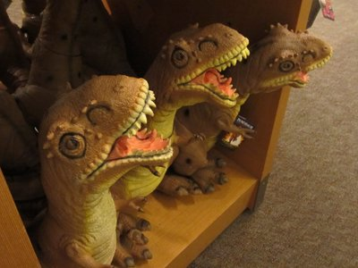 Dinosaur toys for the kids who love the prehistoric creatures.