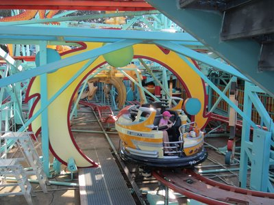 Primeval Whirl - time travel on the cheap.