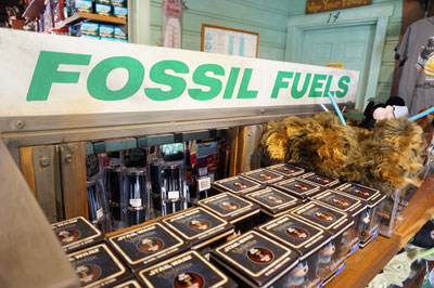 Fossil fuels.  Literally.