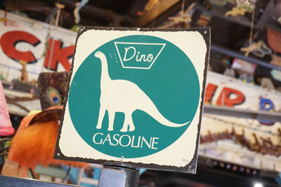 Dino gasoline - it's be best kind, right?