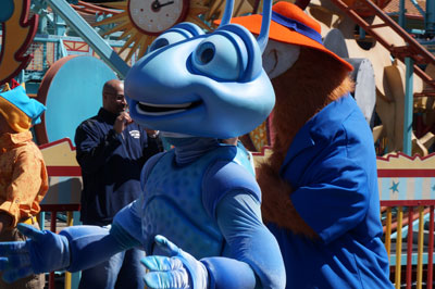 Flik is ready for some fun.