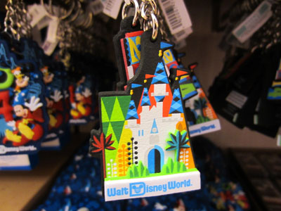 This key chain incorporates the castle design.