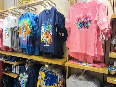 There is plenty of 2014 dated merchandise on the shelves.