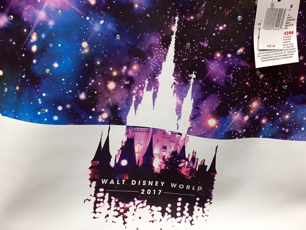 This 2017 Disney World tote bag would be great for work, school, or a day bag in the parks!