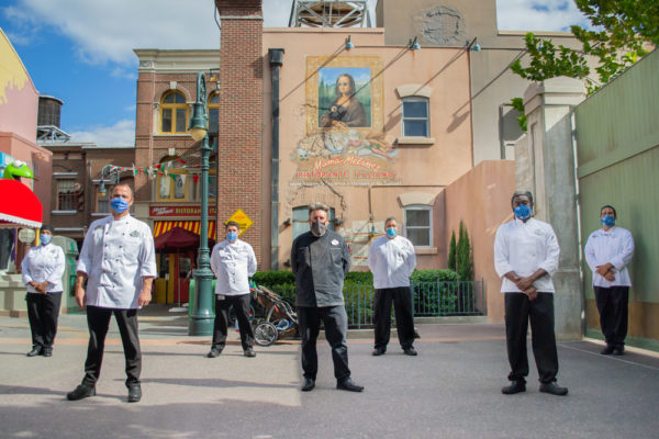 Disney chefs prepared many meals to help others.  Photo credits (C) Disney Enterprises, Inc. All Rights Reserved