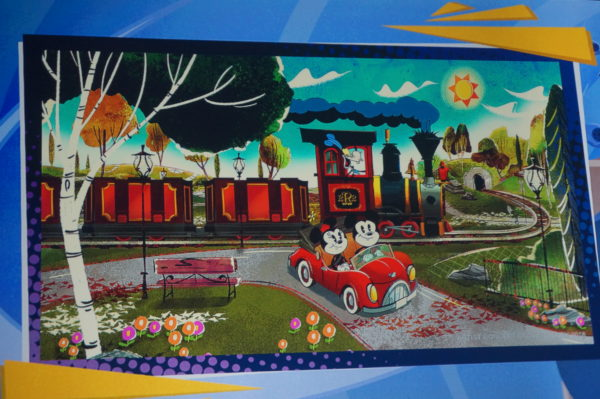 Mickey and Minnie's Runaway Railway. Will it offer 3D fun with HD 2D effects?