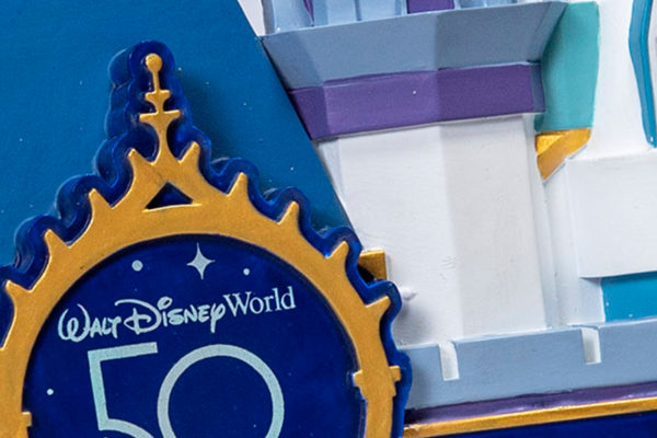 A close-up look at 50th anniversary merchandise. Photo credits (C) Disney Enterprises, Inc. All Rights Reserved