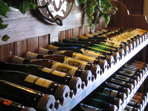 Plenty of wine selections in Germany.