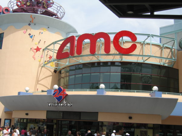 The AMC Theater at Disney Springs has closed, along with all other AMC theaters around the country.