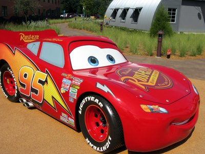 Lightning McQueen at Disney's Art Of Animation Resort