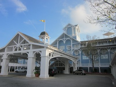 Disney's Beach Club Main Entrance