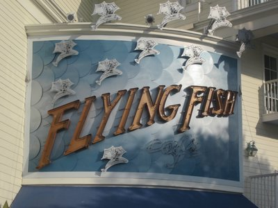 Disney Boardwalk Flying Fish
