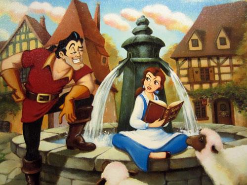 Disney Princess, Belle, loved reading!