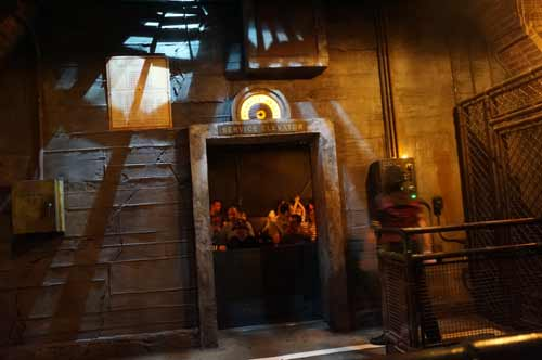Tower of Terror has periods of weightlessness. If you don't like elevators, you probably won't like this ride.