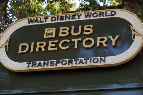Disney buses accommodate those with special needs.