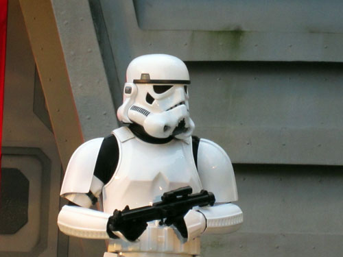 Stormtroopers will play a big role in Star Wars Land.