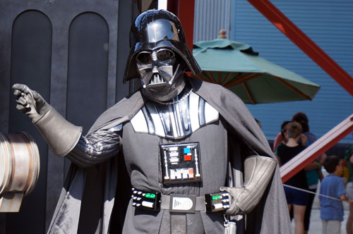 You will soon be able to interact with Star Wars characters - like this guy.