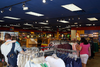 The store is a decent size, but is small compared to some locations on Disney property.